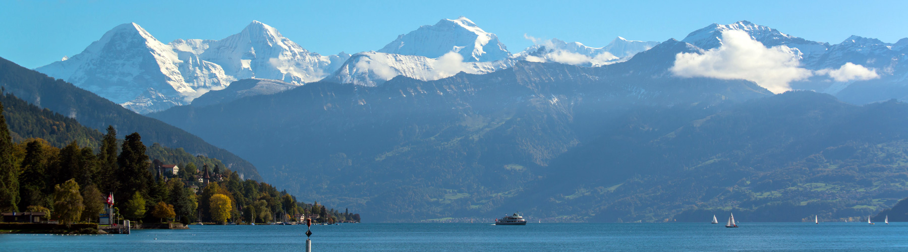 Thunersee Eiger Mönch Jungfrau
